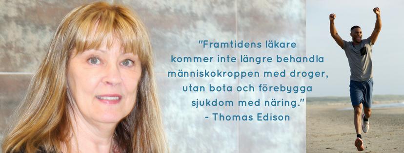 Heléne Roos förespråkar näring inte medicin