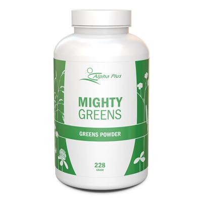 Mighty Greens är den perfekta frukostdrinken fylld med näring.