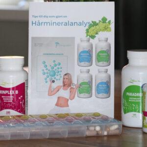 Kosttillskott Hårmineralanalys