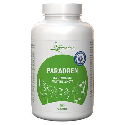 ParAdren 90 tab rekommenderad i hårmineralanalys